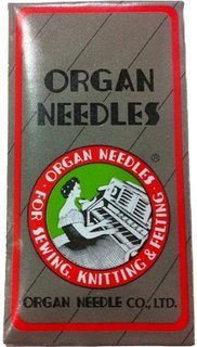 Organ Needles 80x12 lot of 10 (ball point or sharp)