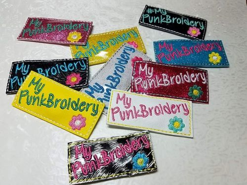 My PunkBroidery Magnets (actual item)
