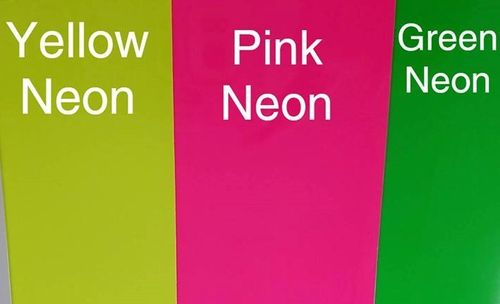 Neon Pink  HTV 10 x 12 inches Sheet Heat Transfer Vinyl