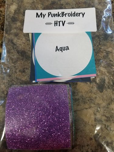 HTV Swatches Heat Transfer Vinyl all colors 2x2 pieces