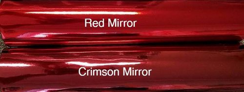 Red Mirror Roll 12 X 52