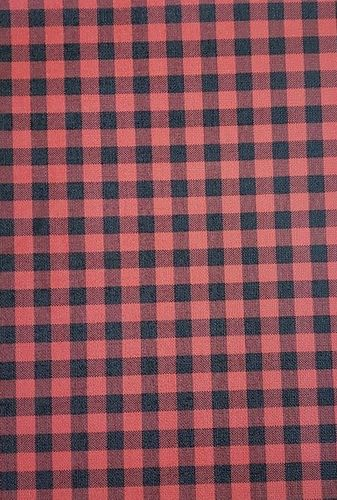 Small Buffalo Plaid Vinyl  Roll 12 X 51