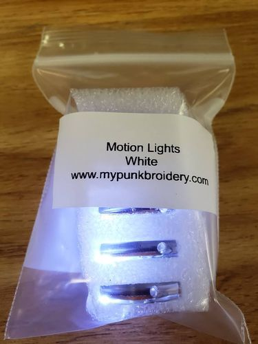 White Motion Lights Pack of 5