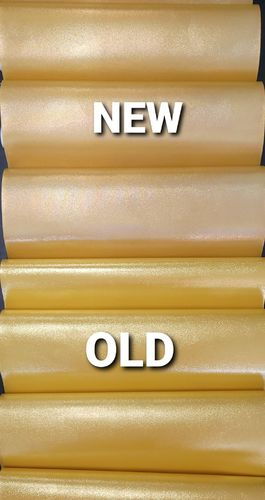 CANARY YELLOW Metallic Vinyl Roll 12 X 53 (changed colors 5-7-21 to a darker goldish yellow)