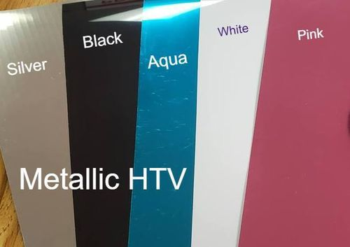 HTV  Metallic Aqua 10 x 12 inches Sheet Heat Transfer Vinyl