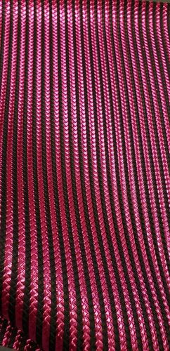 Pink/Black Stripes Vinyl Roll 12 X 53