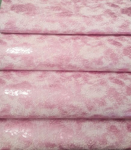 Mock Lace Baby Pink Vinyl Roll 12x52